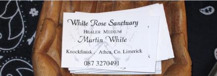 Martin White Ireland Faith Healer