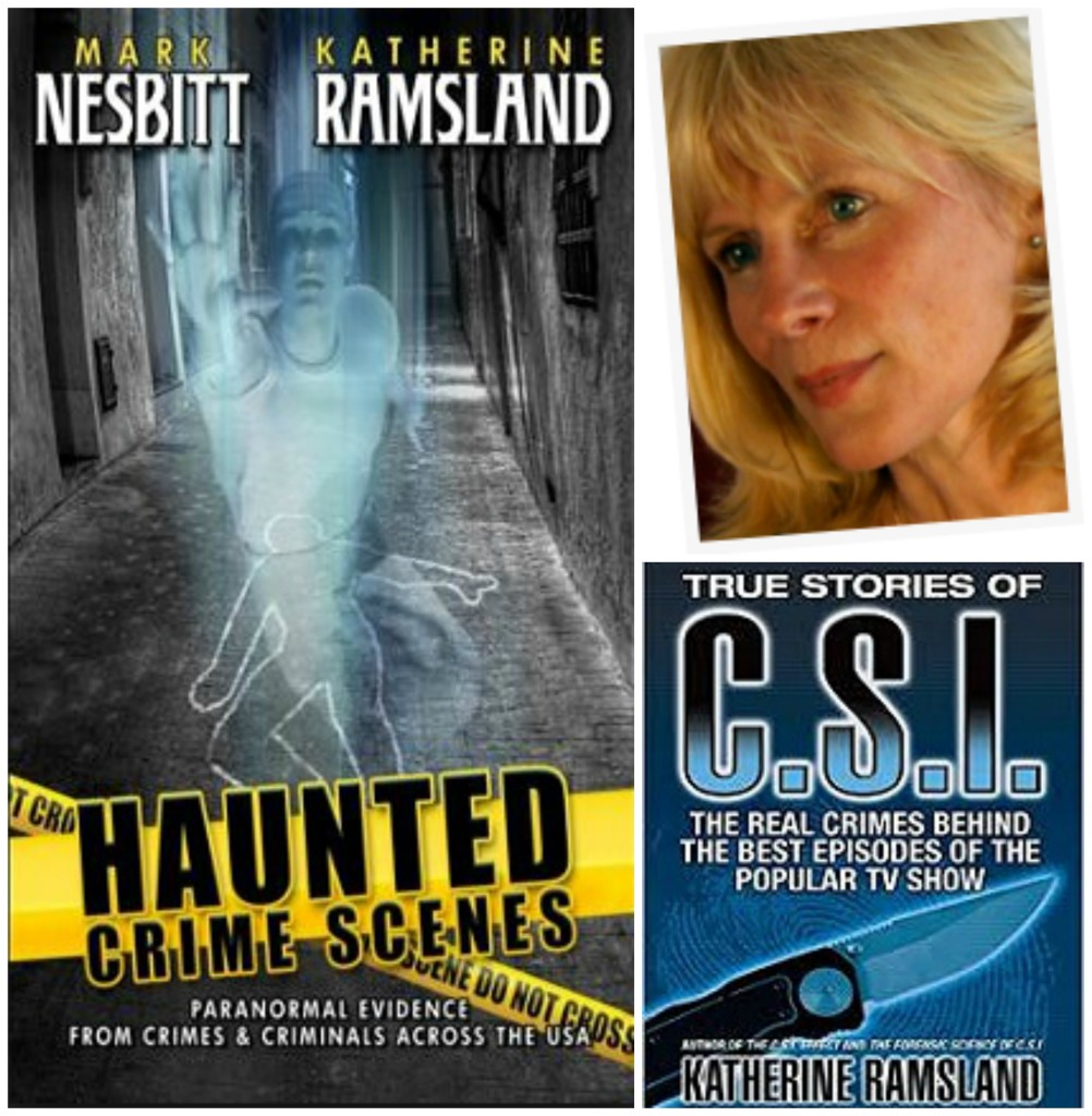 Katherine Ramsland discusses CSI forensic investigations with The Unnormal Paranormal Podcast