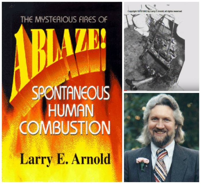 Larry Arnold discusses a lifetime of investigating the phenomenon of Spontaneous Human Combustion