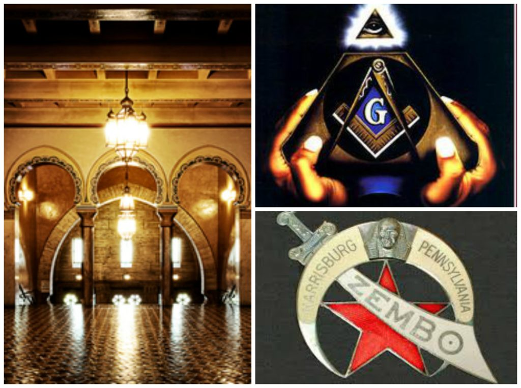 Historic Zembo Shrine in Harrisburg, PA is testament to a powerful society known as Freemasons
