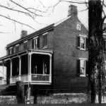 the Worthington House -- a mansion built in 1841, once owned by Captain John Worthington, a wealthy Quaker landowner.