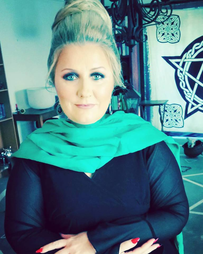 Lizzy Rose is an eclectic Initiated High Priestess and Witch who routinely performs exorcisms and spirit extractions